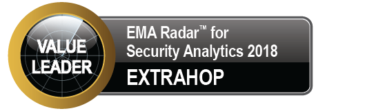 EMA Radar for Security Analytics 2018: Value Leader ExtraHop