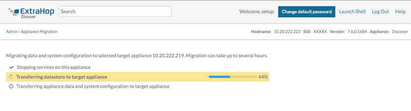 Migrate Data and System Configurations