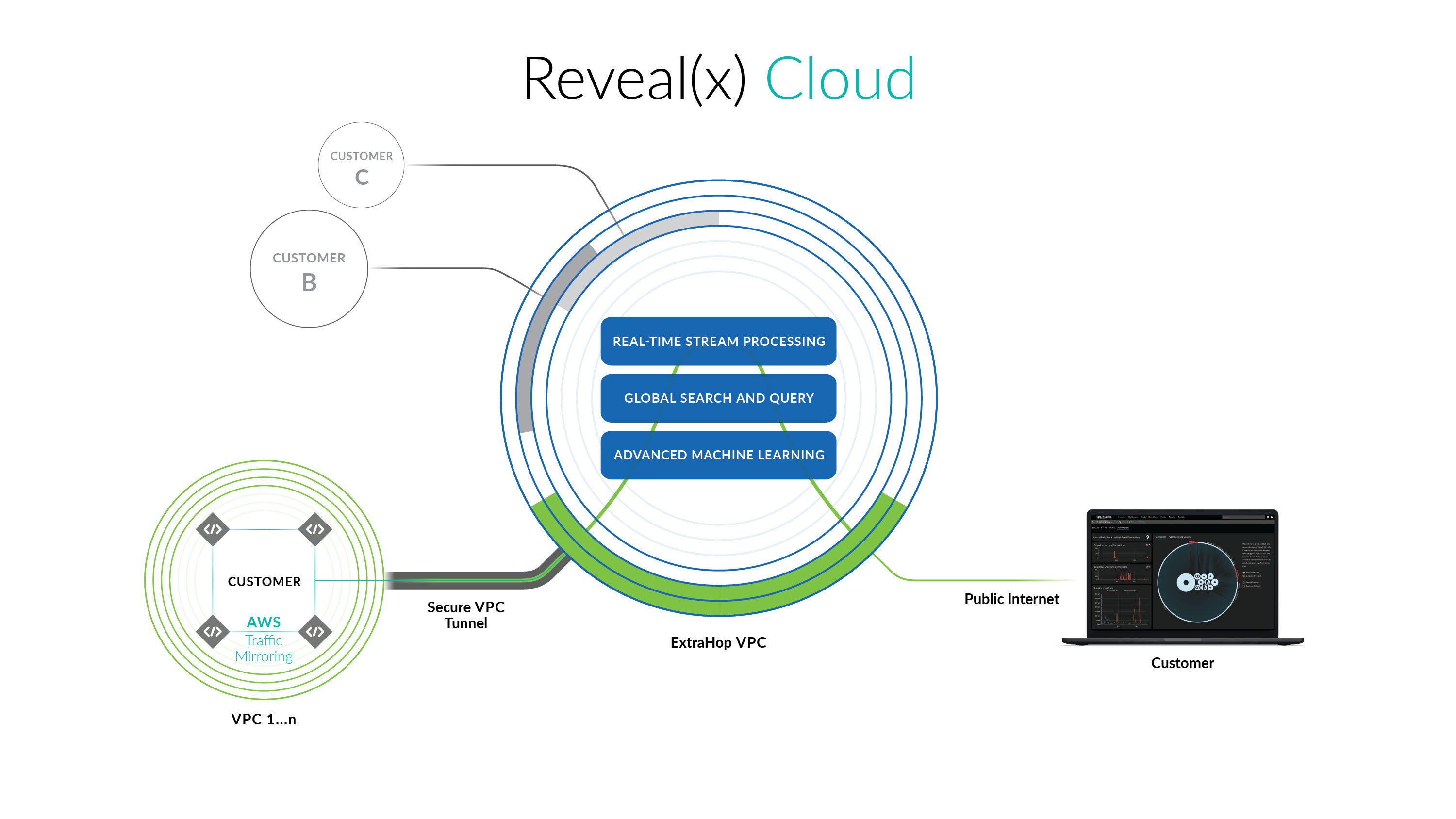 Reveal(x) Cloud Structural Diagram