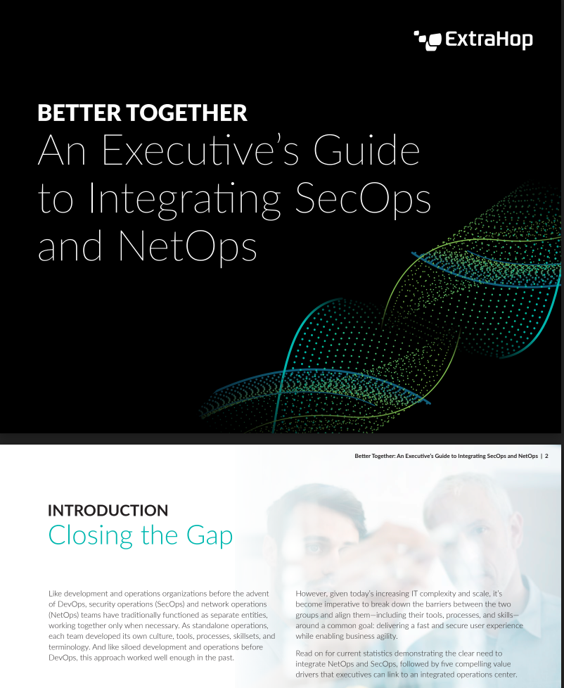 Integrating NetOps and SecOps cover