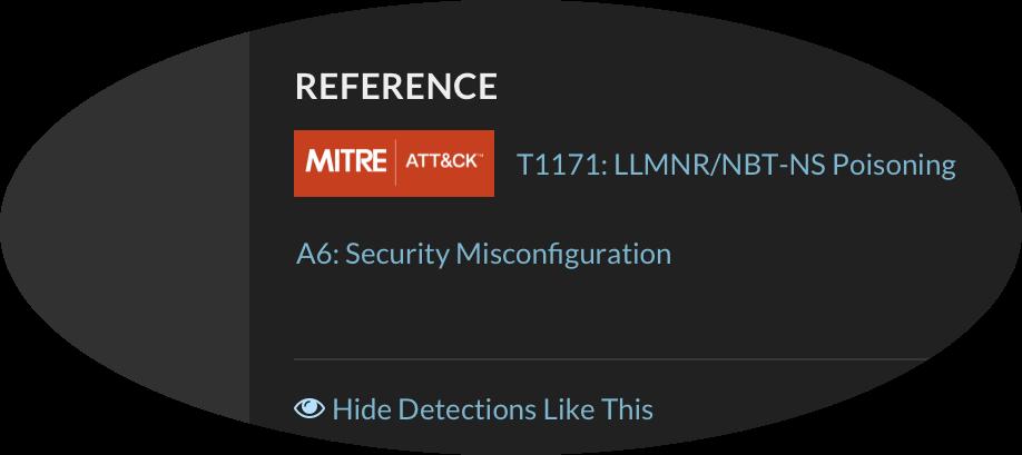 MITRE-LLMNR Reference