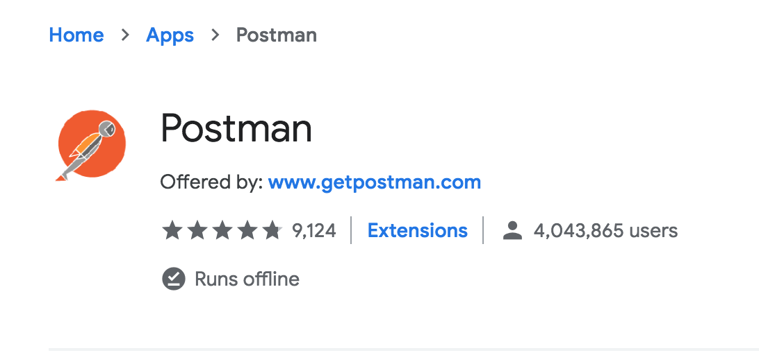 The real Postman app