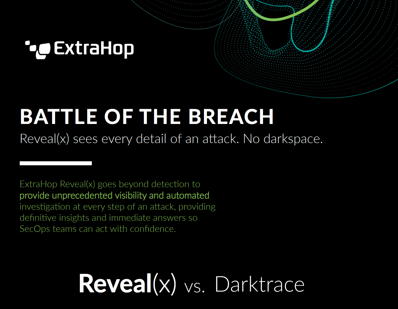 ExtraHop Reveal(x) vs. Darktrace