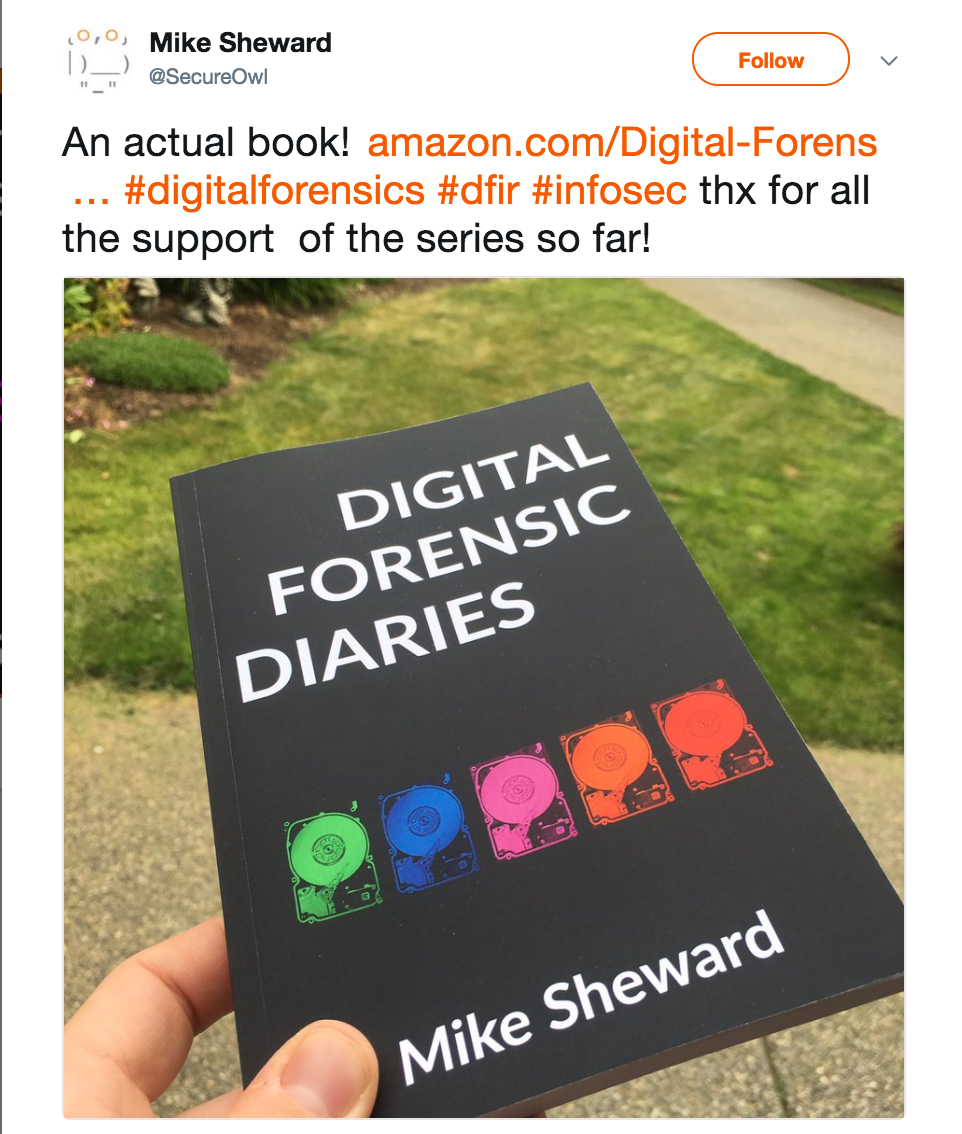 Digital Forensic Diaries