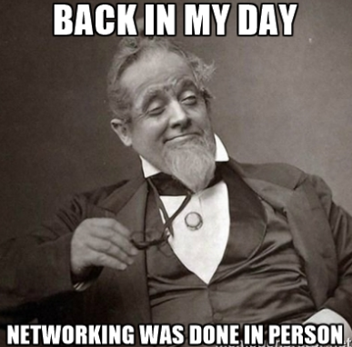 Back in My Day Networking