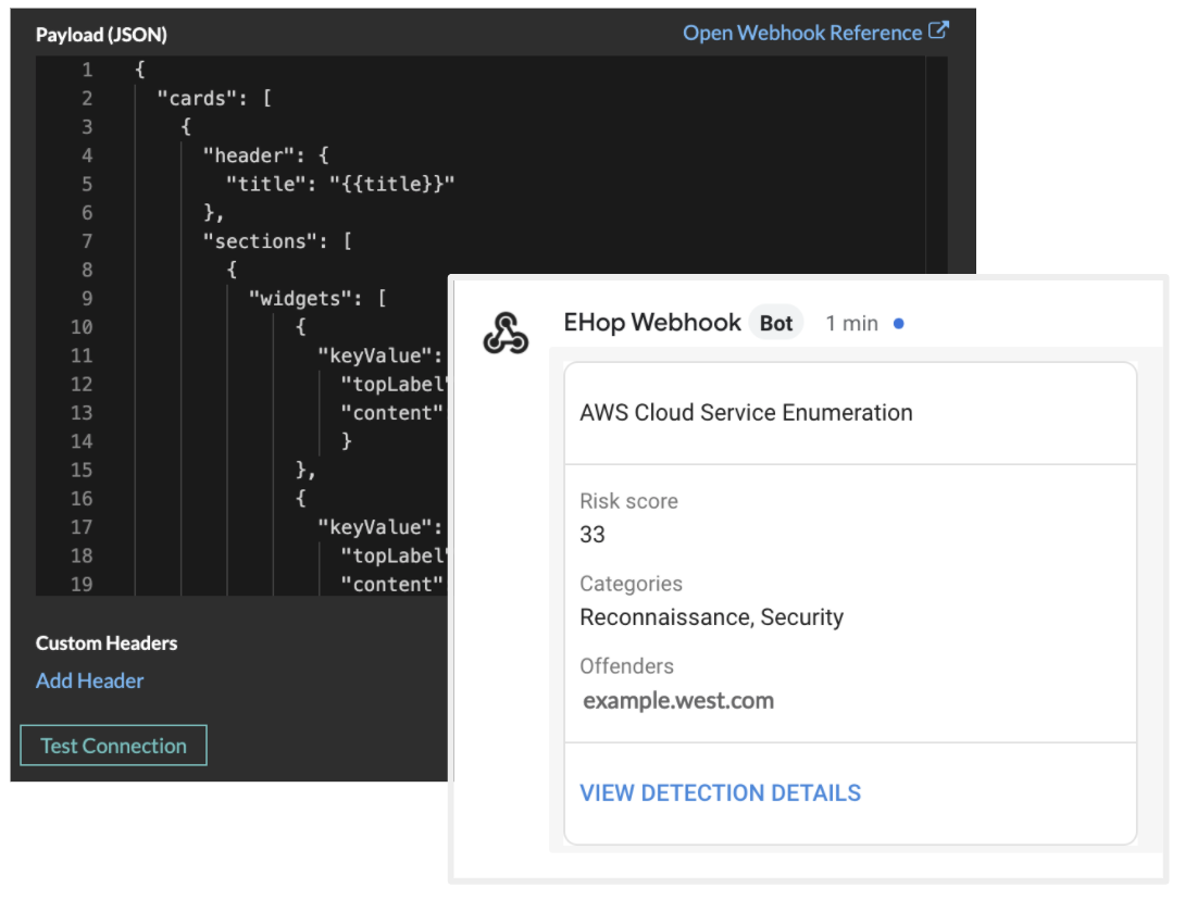 Creating a Webhook for AWS Cloud Service Enumeration