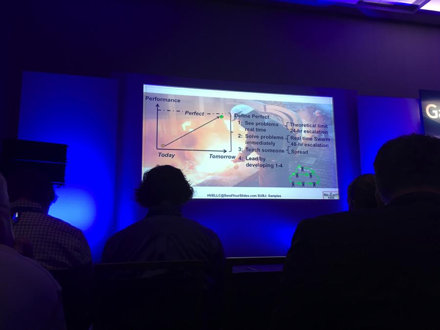 Steve Spear performance slide