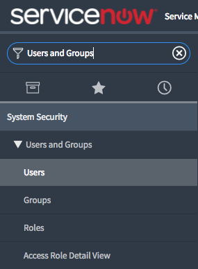 ServiceNow Users