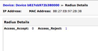 Radius page screenshot
