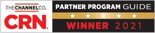 CRN Partner Program Guide Winner 2021