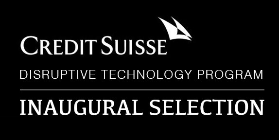 Disruptive Technology Program Inaugural Selection