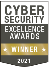 Cybersecurity Excellence Awards Winner - 2021