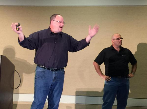 John Smith and Mike Nelson talk about the Packet Games at Briforum 2015