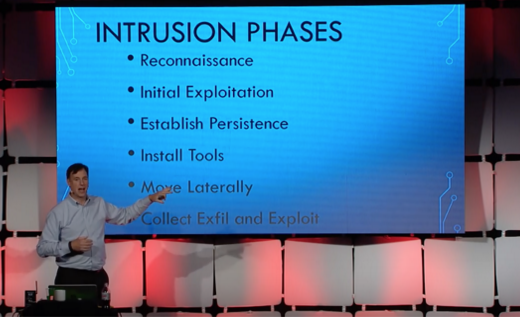 Rob Joyce presents the NSA's 7 phases of network intrusion