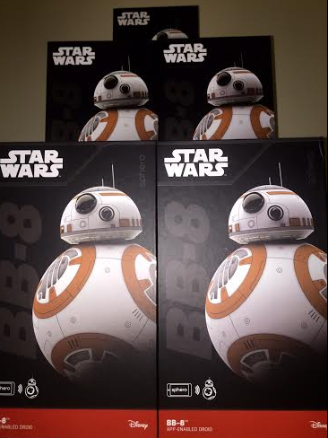 Stop by booth #525 for a free demo of ExtraHop and a chance to win an app-controlled BB-8 Droid.
