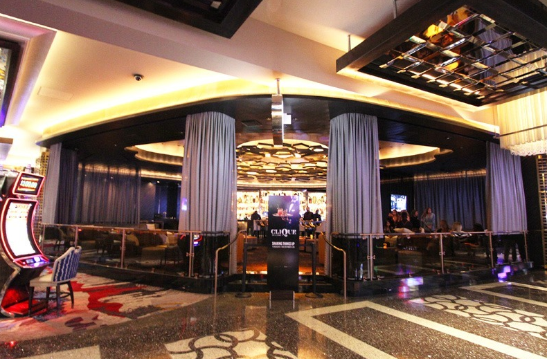 Clique Lounge at The Cosmopolitan