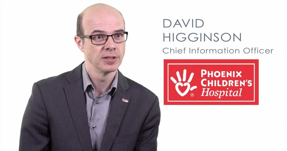 Phoenix Children's Hospital CIO David Higginson