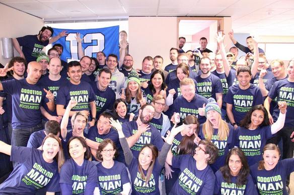 Binary 12th Man Seahawks pride