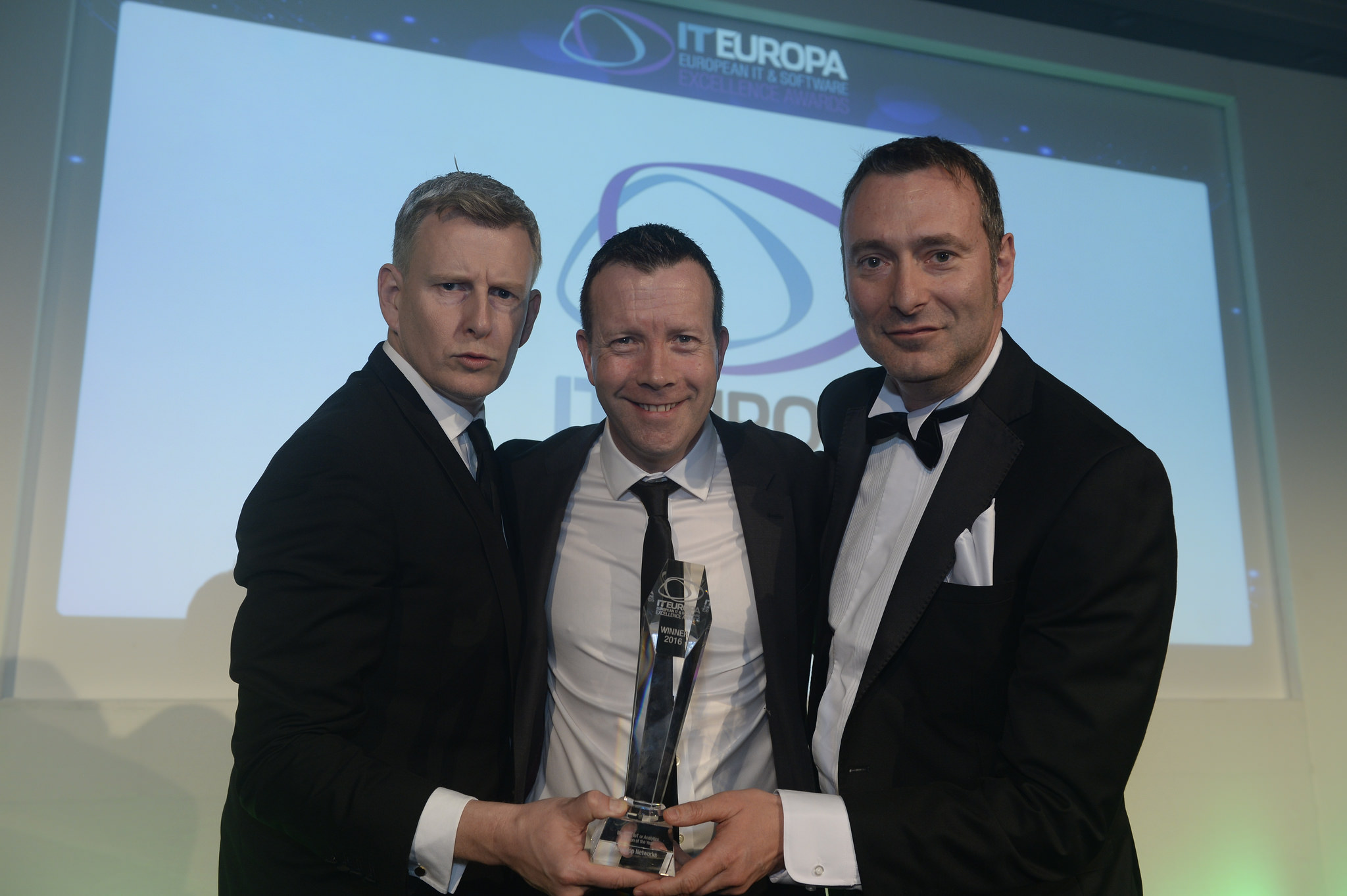 Accepting IT Europa's top prize