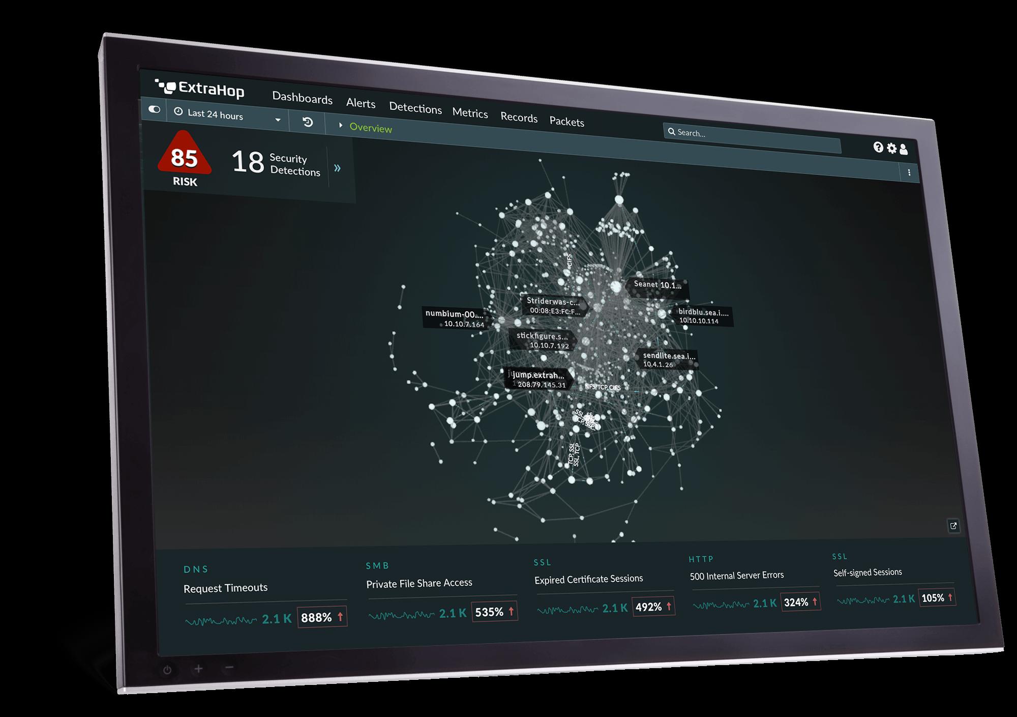 ExtraHop UI