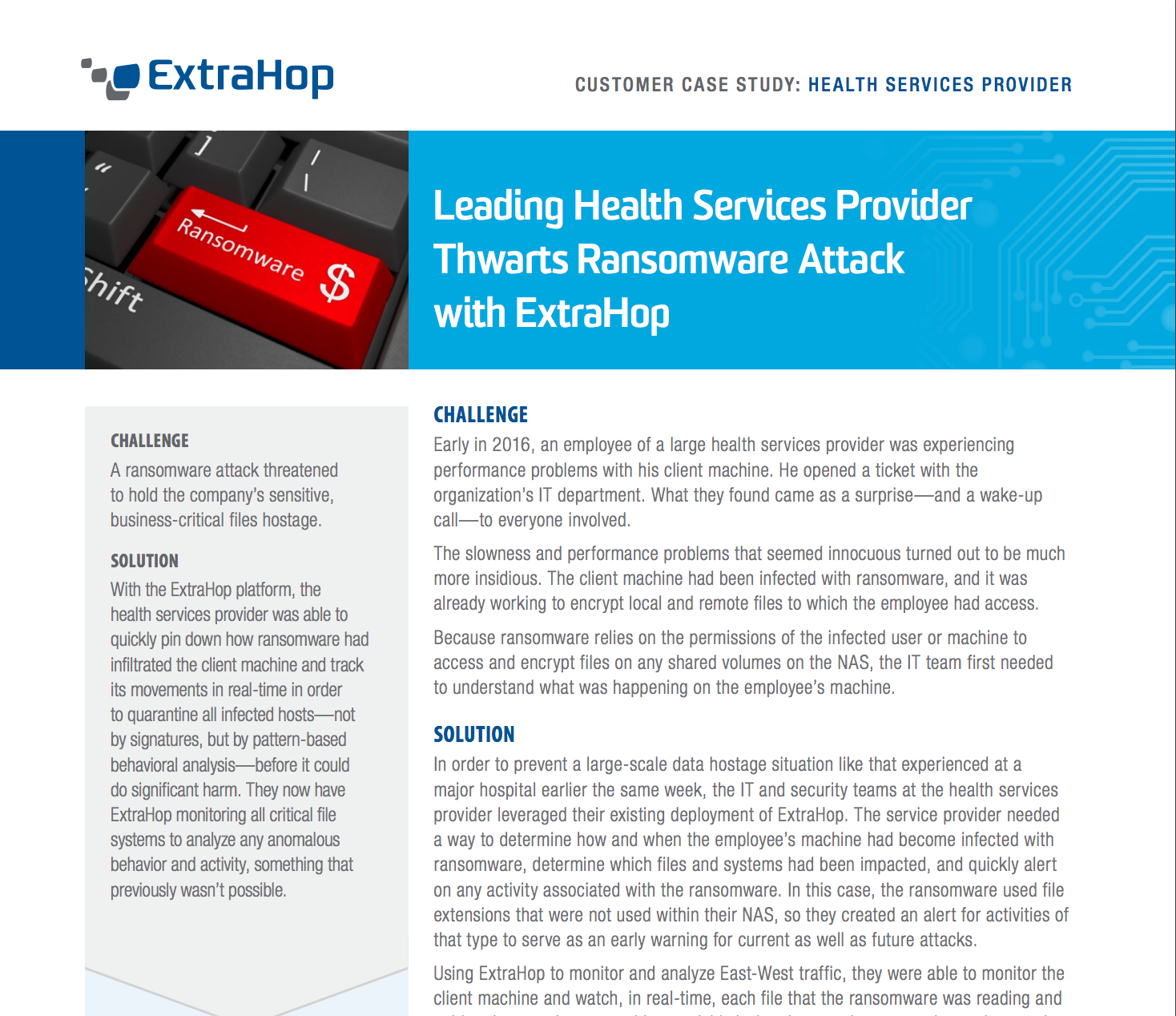 Health Services Provider