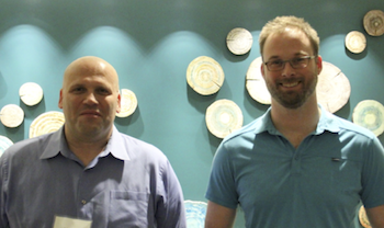 John Smith (left) and Jon Garrison, both members of the ExtraHop Solutions Architecture team.