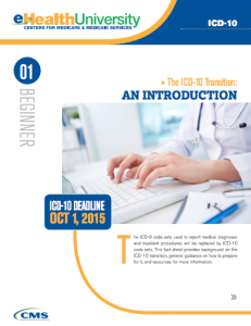 The Centers for Medicare & Medicaid Services offers a helpful ICD-10 factsheet explaining the conversion.
