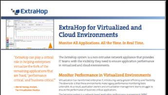 ExtraHop Virtualization Datasheet tile image