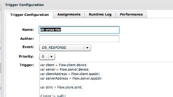 Database per URI trigger_tile image